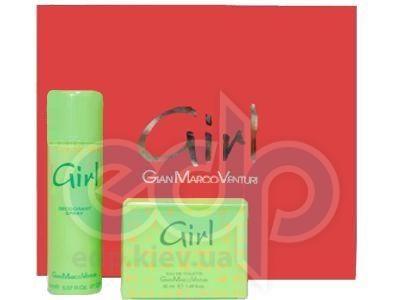 Gian Marco Venturi Girl -  Набор (туалетная вода 50 + дезодорант 150)