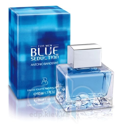 Antonio Banderas Blue Seduction for Men - туалетная вода - пробник (виалка) 1,5 ml