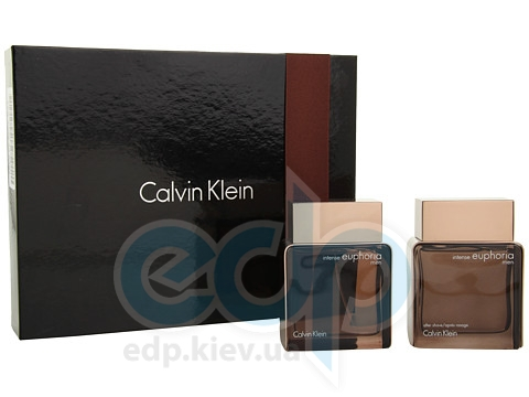 Calvin Klein Euphoria Men Intense -  Набор (туалетная вода 100 + после бритья 100)