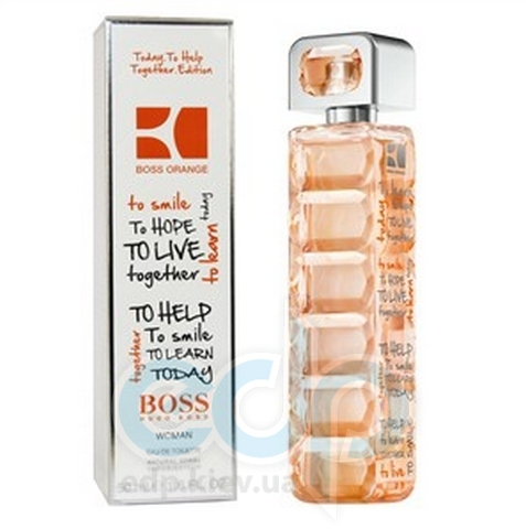 Hugo Boss Orange Today To Help Together for woman - туалетная вода - 50 ml TESTER