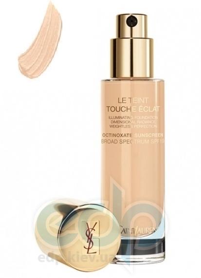 Крем тональный увлажняющий придающий коже естественное сияние Yves Saint Laurent - Le Teint Touche Eclat Foundation SPF - BR30 - 30 ml
