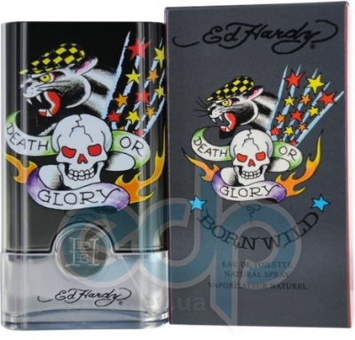 Christian Audigier Ed Hardy Born Wild For Men - туалетная вода - 50 ml