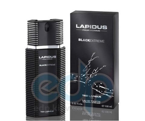 Ted Lapidus Lapidus Pour Homme Black Extreme - туалетная вода - 100 ml