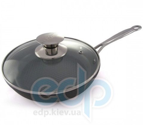 Lessner - Сковорода с крышкой Ceramik Line диаметр 24 см (арт. ЛС88335-24)