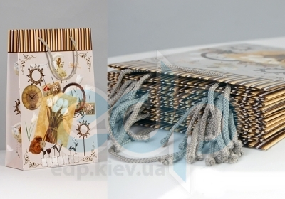 Пакет бумажный Sabona - Коллаж 33x22x8.5