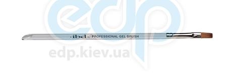 ibd - Профессиональная прямоугольная кисть для геля из соболя Professional Gel Brush