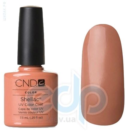 CND Shellac - Cocoa Гель-лак тёмный беж, тёплый оттенок, эмаль №514 - 7.3 ml