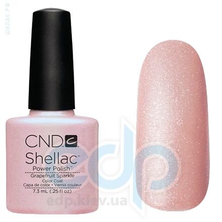 CND Shellac - Grapefruit Sparkle Гель-лак нежно-розовый с микроблеском №857 - 7.3 ml