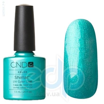 CND Shellac - Hotski To Tchotchke Гель-лак бирюза с микроблеском №529 - 7.3 ml