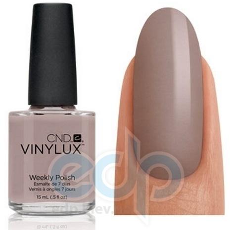 CND Vinylux - Лак для ногтей Rubble Серо-коричневый, эмаль №144 - 15 ml