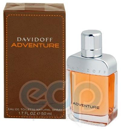 Davidoff Adventure -  Набор (туалетная вода 50 + гель для душа 50 + бальзам после бритья 50)