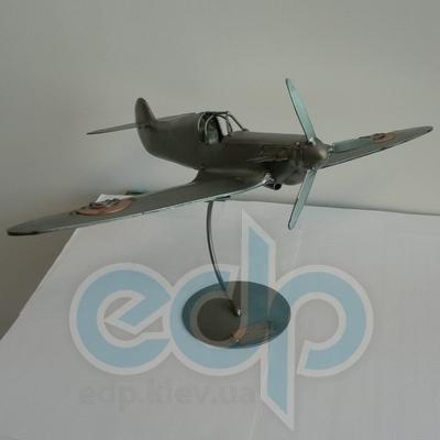 Hinz and Kunst (cтатуэтки) Статуэтки Hinz and Kunst (Германия) - Самолет Spitfire - 22 x 30 см. (металл)