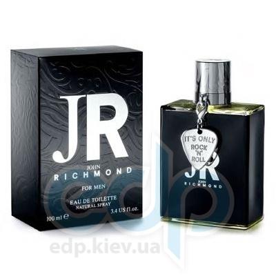 John Richmond For Men -  Набор (туалетная вода 50 + гель для душа 50 + бальзам после бритья 50)