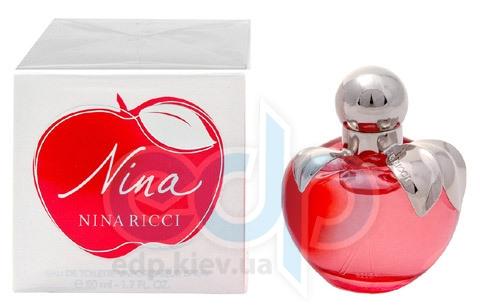 Nina Ricci Nina -  Набор (туалетная вода 50 + лосьон-молочко для тела 100 + кошелек/сумочка)