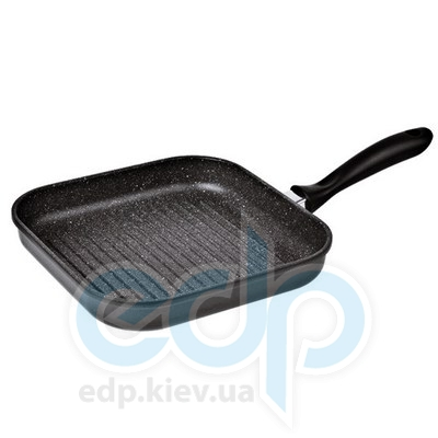 Granchio (посуда) Granchio -  Сковорода-гриль Granchio Marmo Induction - размер 26х26 см (арт. 88006)