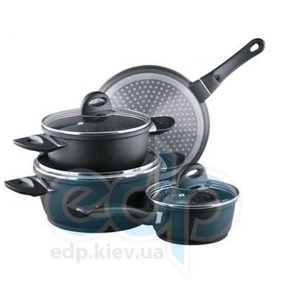 Granchio (посуда) Granchio -  Набор посуды Granchio Marmo Induction - 7 предметов (арт. 88012)