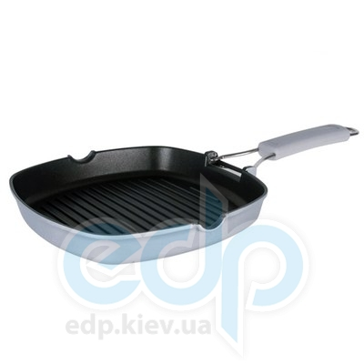 Granchio (посуда) Granchio -  Сковорода-гриль Granchio Grill - диаметр 24х24 см. (арт. 88254)