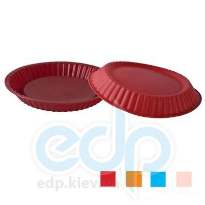 Granchio (посуда) Granchio -  Силиконовая форма для выпечки круглая Granchio Silico Flex - объем 26 см (арт. 88404)