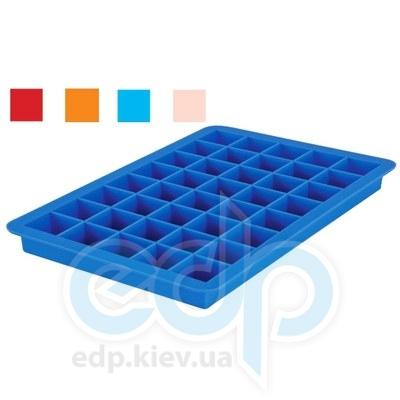Granchio (посуда) Granchio -  Силиконовая форма для льда Granchio Silico Flex  - размер 20х13 см на 40 кубиков  (арт. 88411)