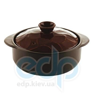 Granchio (посуда) Granchio -  Кастрюля керамическая Granchio Lauro Green Fiamma - объем 1.5 л. Диаметр 18 см. (арт. 88500)