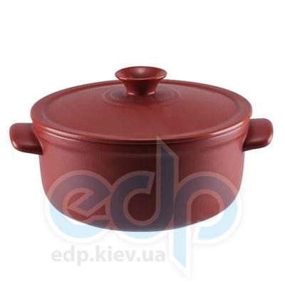 Granchio (посуда) Granchio -  Кастрюля керамическая Granchio Terra Green Fiamma - объем 1.5 л. Диаметр 18 см. (арт. 88530)