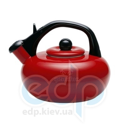 Granchio (посуда) Granchio -  Чайник Granchio Stera красный - объем 2.5 л (арт. 88611)