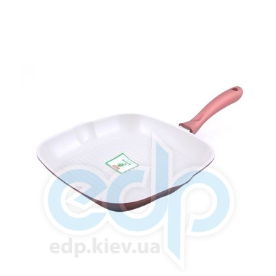 Fissman (посуда) Fissman - Сковорода-гриль BISCUIT 28см для индукции (литой алюминий) (ФС4.669)