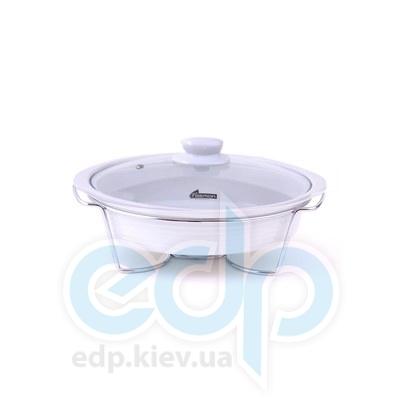 Fissman (посуда) Fissman - Мармит овальный 38x9.5см  (ФС6.011)