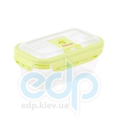 Fissman (посуда) Fissman - Контейнер пластиковый герметичный прямоугольный 0.8л  (ФС6.751)
