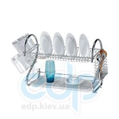 Maestro (посуда) Maestro - Сушка для посуды двухярусная Rainbow (МР1026)