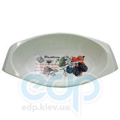 Maestro (посуда) Maestro - Блюдо овальное Ежевика (МР11025-42)