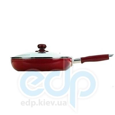 Maestro (посуда) Maestro - Сковорода 24см красная Rainbow (МР1200-24)