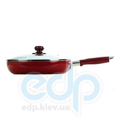 Maestro (посуда) Maestro - Сковорода 26см красная Rainbow (МР1200-26)