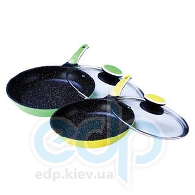 Maestro (посуда) Maestro - Сковорода 28 см Ceramic с крышкой (МР1220-28)