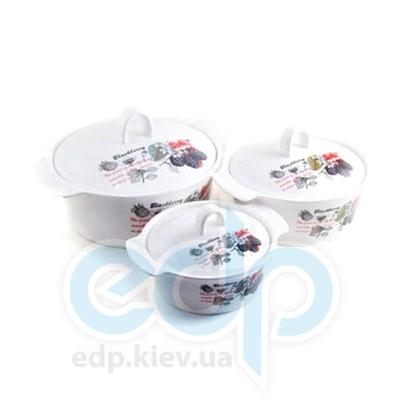 Maestro (посуда) Maestro - Кастрюля керамическая с крышкой 13 см  (МР15325-41)