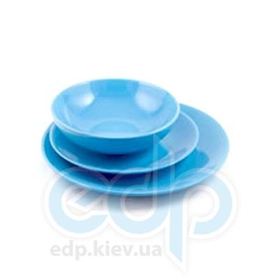 Maestro (посуда) Maestro - Сервиз 18пр. керамика синий (МР20004-18Sс)
