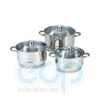 Maestro (посуда) Maestro - Набор посуды 6пр. силикон. ручки (МР2220-6L)