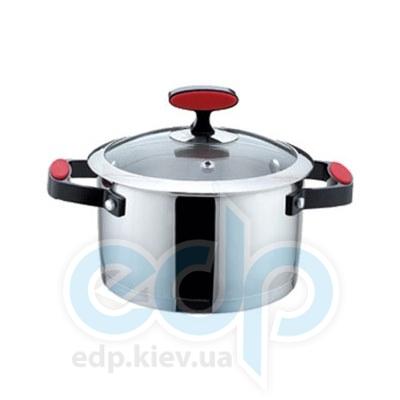 Maestro (посуда) Maestro - Кастрюля 18см 2.0 л. Силик. ручки (МР3514-18)