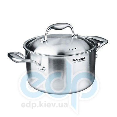 Rondell (посуда) Rondell - Кастрюля Evolution с крышкой 20 см. 3.7 л. (RDS-350)