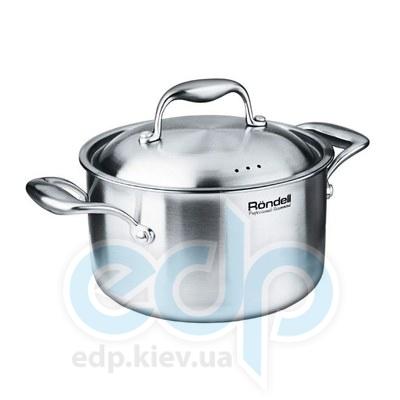 Rondell (посуда) Rondell - Кастрюля Evolution с крышкой 24 см. 5.8 л. (RDS-351)