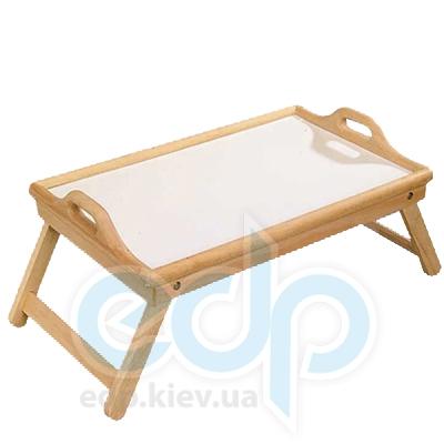 Kesper - Поднос-cтолик на ножках Бамбуковое покрытие 55 см (арт. 77012)