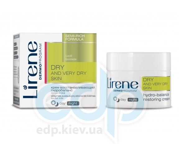 Lirene - Сухая кожа Крем для восстановления гидробаланса кожи лица, день / ночь - 50 ml