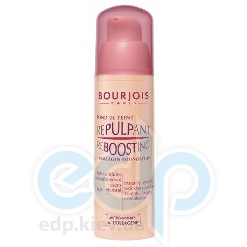 Тональный крем Bourjois -  Fond De Teint Repulpant №62 Rose Peau/Светло-Розовый