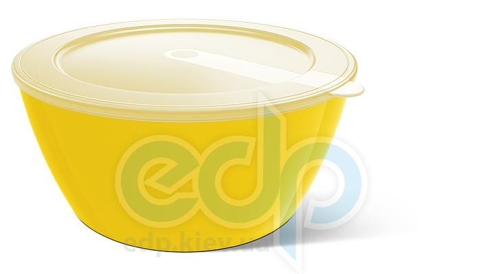 Emsa - Миска с крышкой объем 3.5 л. желтая MyColours Savio (арт. 509427)