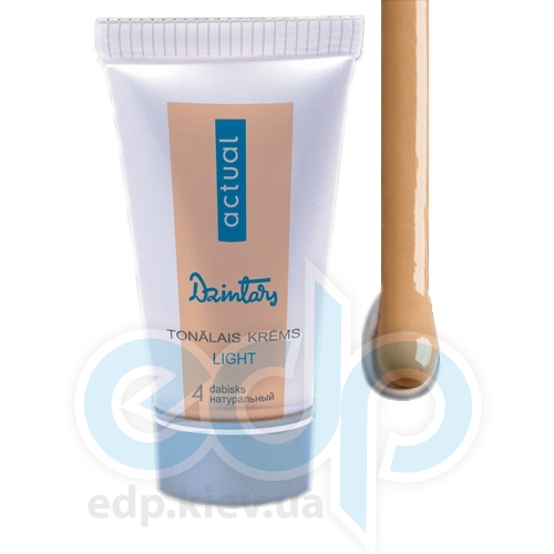 Dzintars (Дзинтарс) - Тональный крем, Dzintars Actual light, тон 4 - мокко - 30 ml (57236dz)