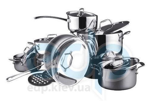 Vinzer (посуда) Vinzer -  Набор посуды TRILINE - 14 предметов, посуда из трехслойного материала (арт. 69028)