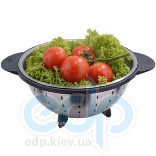 Vinzer (посуда) Vinzer -  Дуршлаг - 22 см, нержавеющая сталь (арт. 69341)