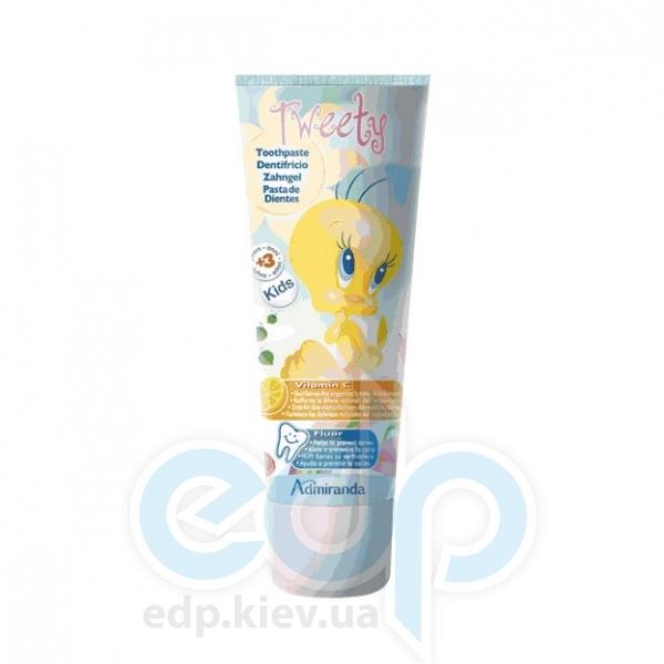 Admiranda - Зубная паста с фтором и витамином С Tweety - 75 ml (арт. AM 78011)