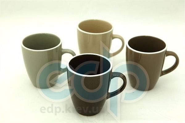 Fissman - Набор чашек 4 шт объем 330 мл керамика (арт. CS-9256.330)