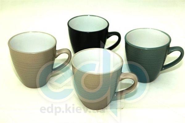 Fissman - Набор чашек 4 шт объем 450 мл керамика (арт. CS-9259.450)